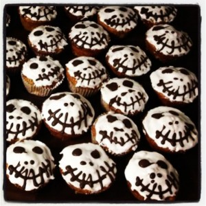 Grusel Cupcakes