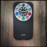 S3 Hülle in Schwarz mit Farbfilter