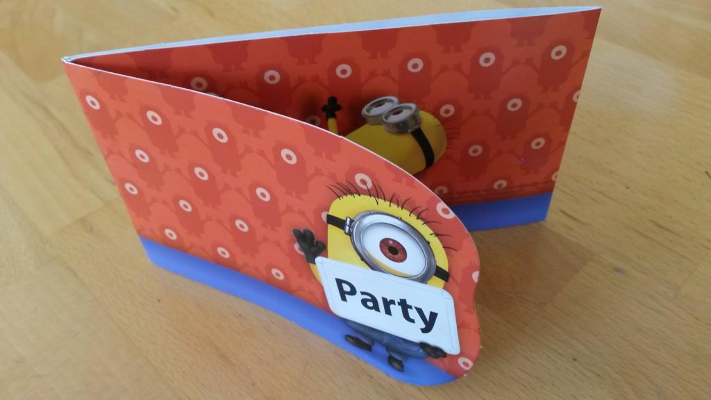 Minions Geburtstagsparty